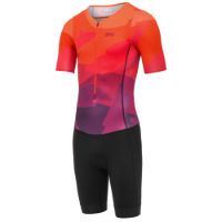 2c3e9d060b dhb Blok Short Sleeve Tri Suit - SUNSET