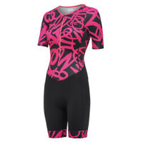 dhb Blok Womens Short Sleeve Tri Suit - JAZZ