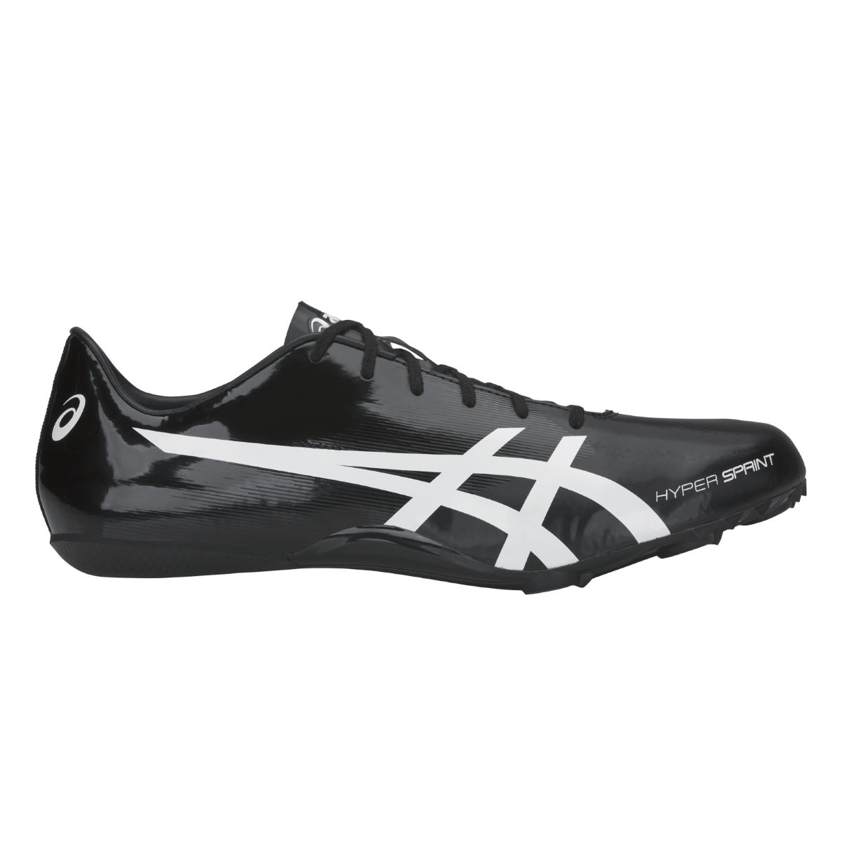 Asics Hyper Sprint 7 - Uk 12 Black/white  Track And Field Shoes
