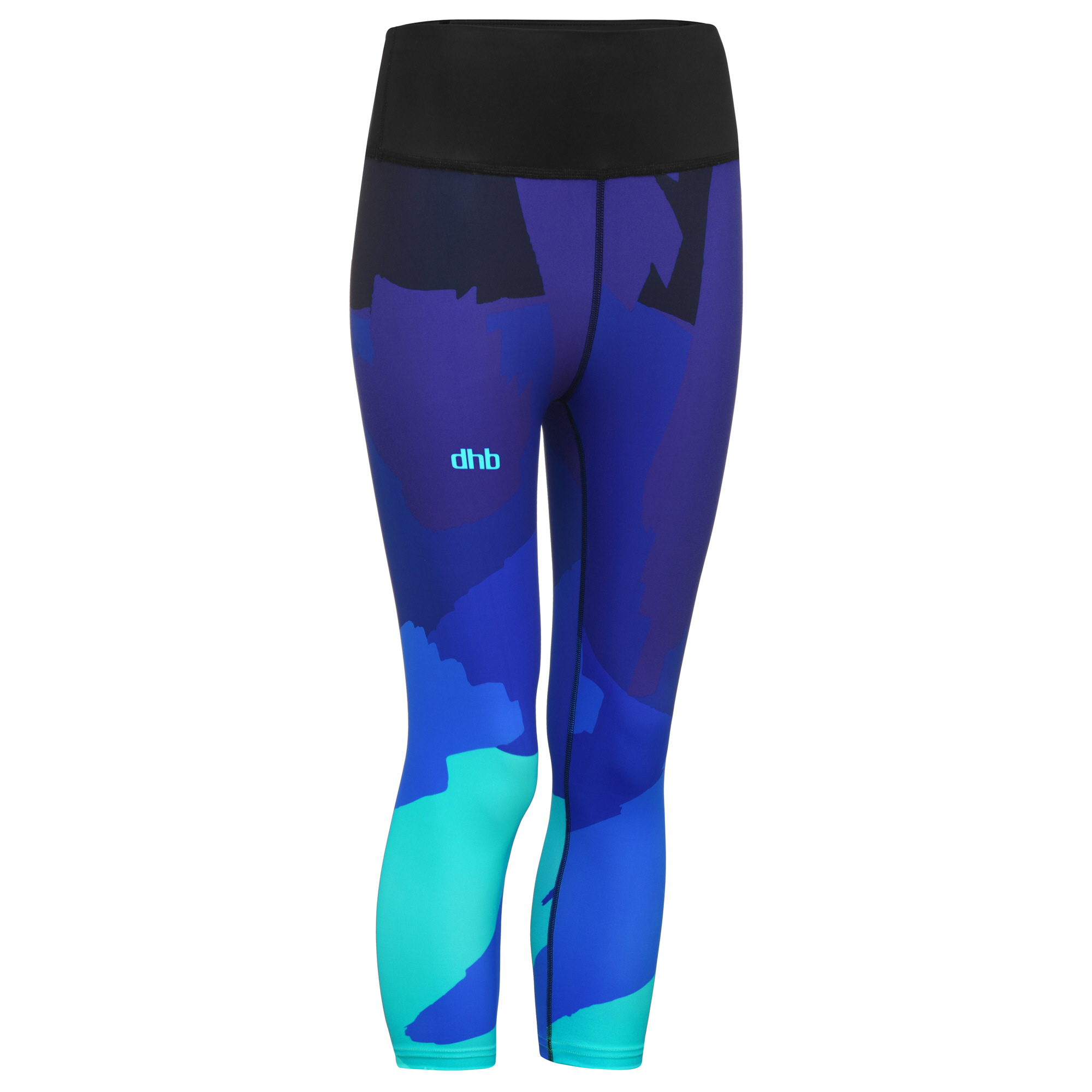 lower price with good selling the sale of shoes Collants | dhb | Women's Printed Run Capri - Seafoam | Wiggle France