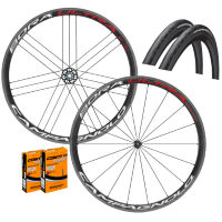 Campagnolo Bora Ultra 35 Clincher Wheels GP4000s II Bundle