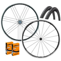 Campagnolo Zonda C17 Shimano Wheels GP4000s II Bundle