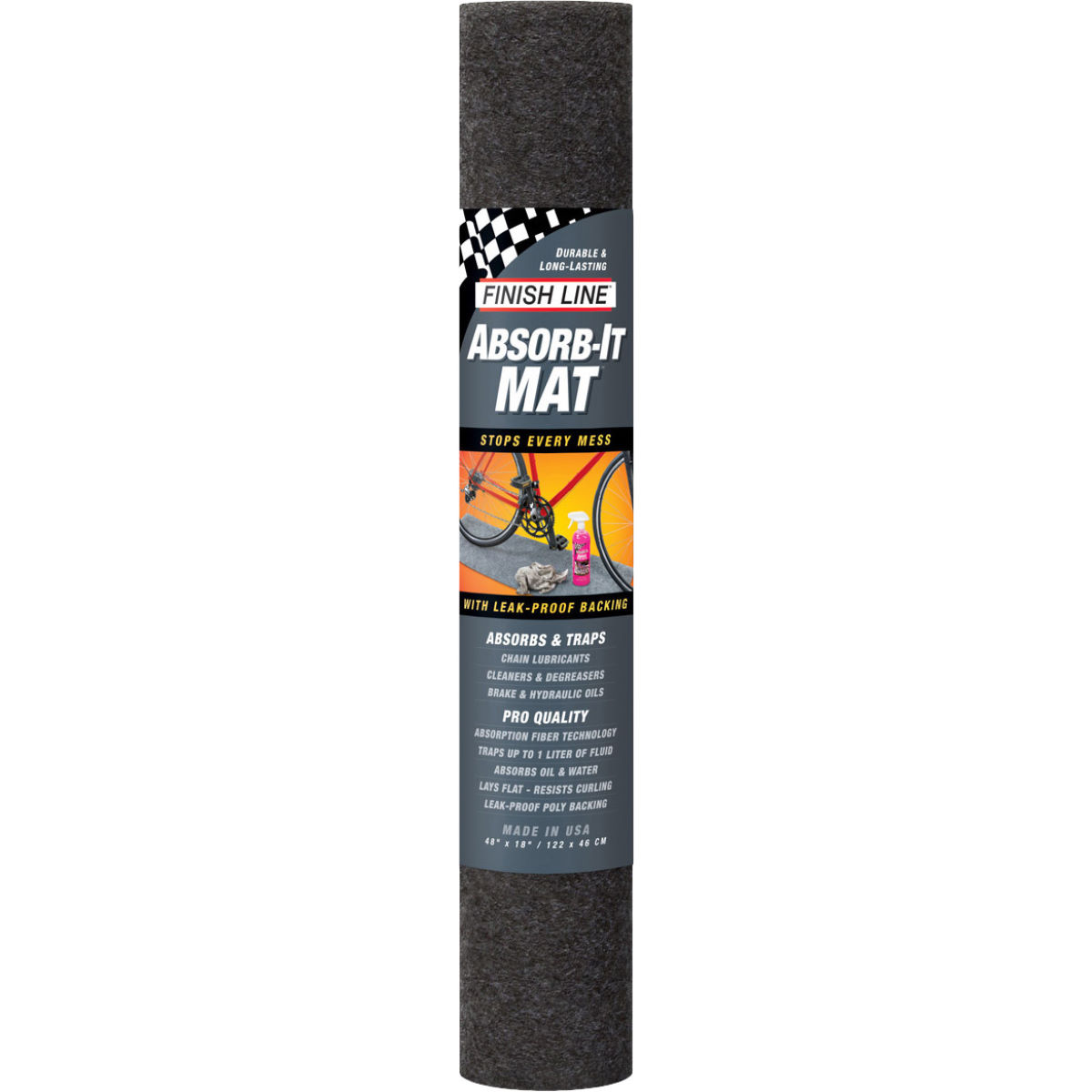Finish Line Finish Line Absorb-It Mat   Cleaning Equipment