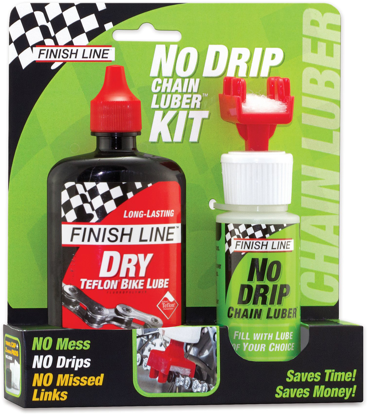 Finish Line No Drip and Dry Lube Combo | Body maintenance