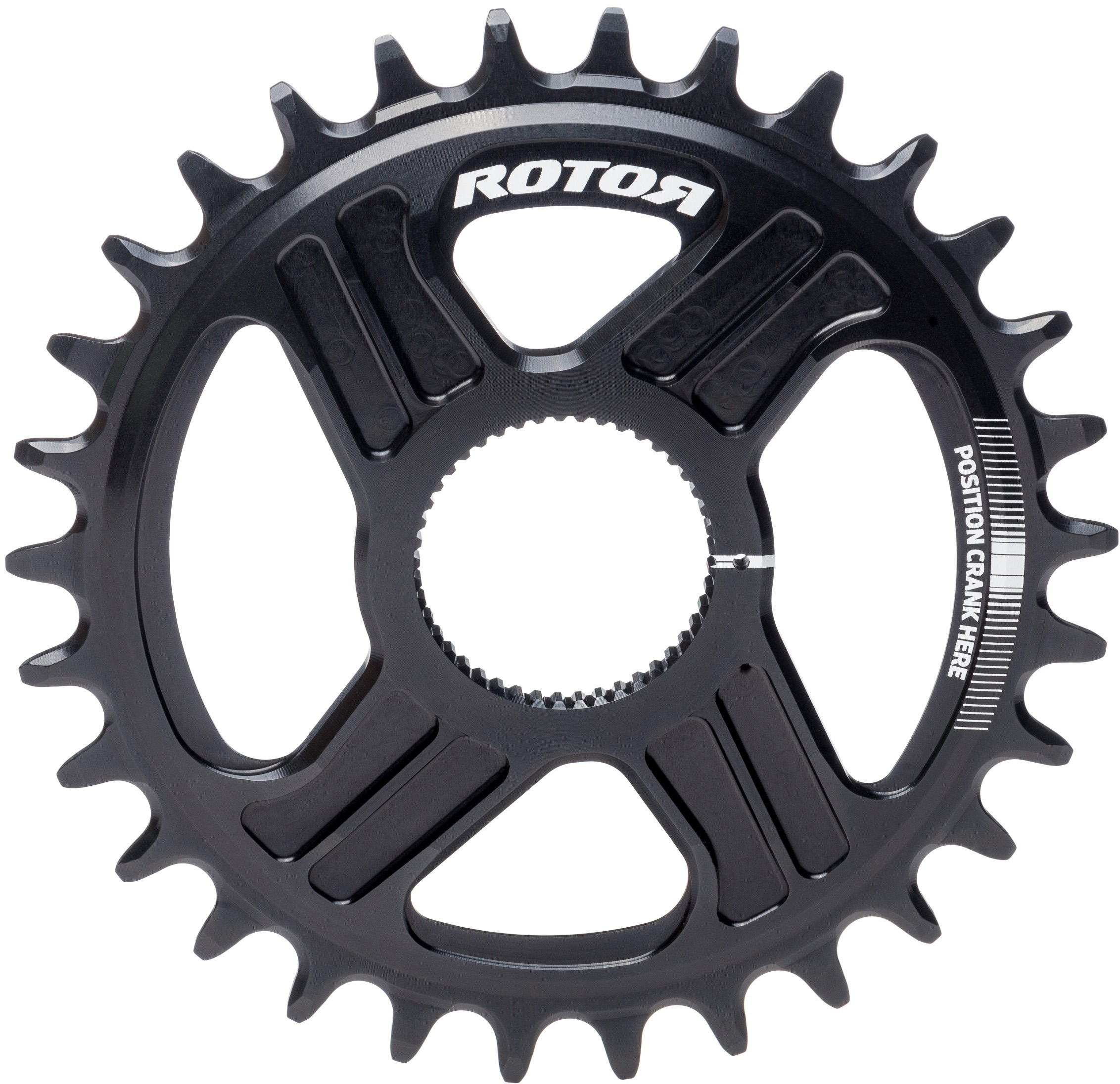 Rotor Round DM Chainring Inner | chainrings_component
