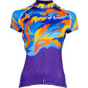 Primal Women's Fierce Evo Jersey Multicolor Flame