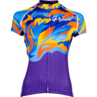Primal Womens Fierce Evo Jersey Multicolor Flame