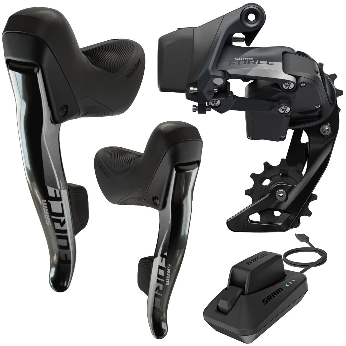 SRAM SRAM Force eTap AXS 1x 12Sp Groupset   Groupsets