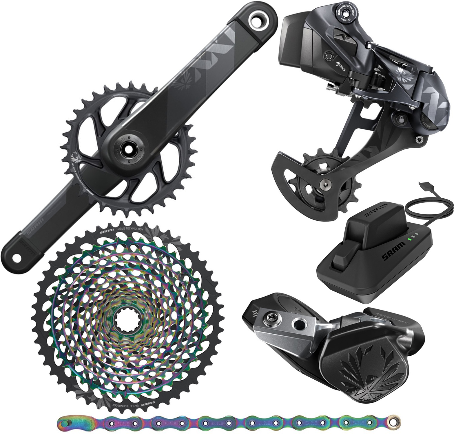 SRAM XX1 Eagle AXS DUB 12Sp Groupset | Groupsets