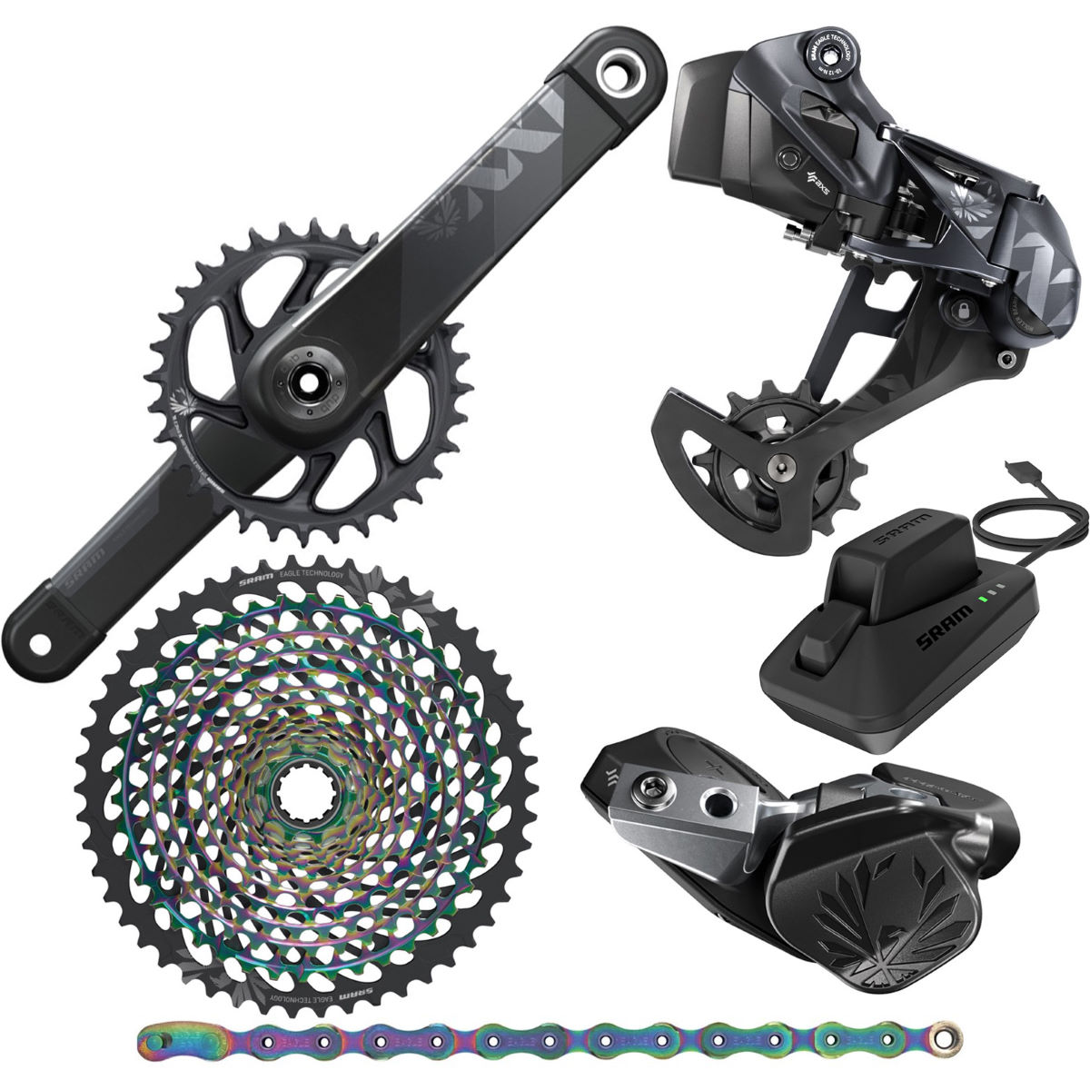 SRAM SRAM XX1 Eagle AXS DUB 12Sp Groupset   Groupsets