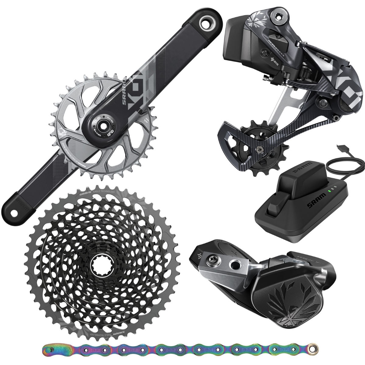 SRAM SRAM X01 Eagle AXS DUB 12Sp Groupset   Groupsets
