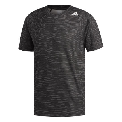 adidas Freelift_Tech Fitted Striped Heather Tee
