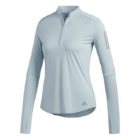 adidas Womens Own The Run 1/2 Zip Tee