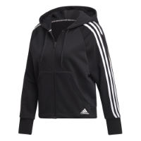 adidas Womens Must Haves 3-Stripes Full-Zip Hoodie
