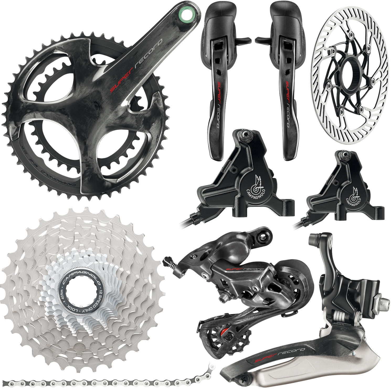 Campagnolo Super Record 12x Disc Groupset | Geargrupper