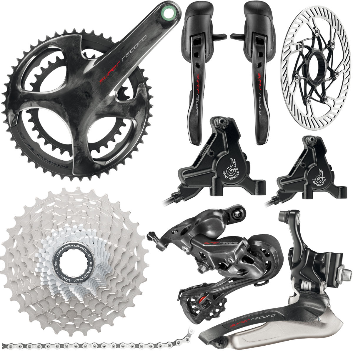Campagnolo Campagnolo Super Record 12x Disc Groupset   Groupsets