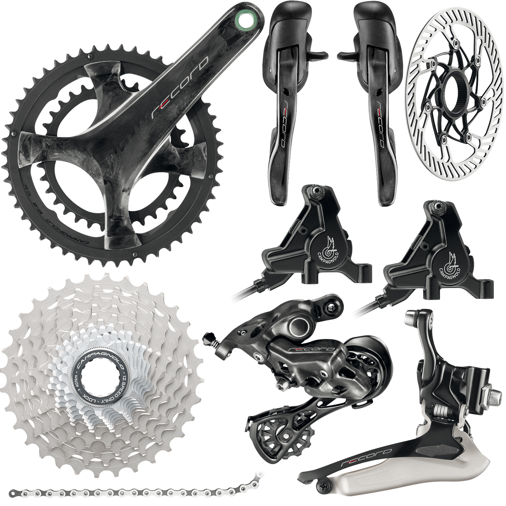 Campagnolo Record 12x Disc Groupset | Groupsets