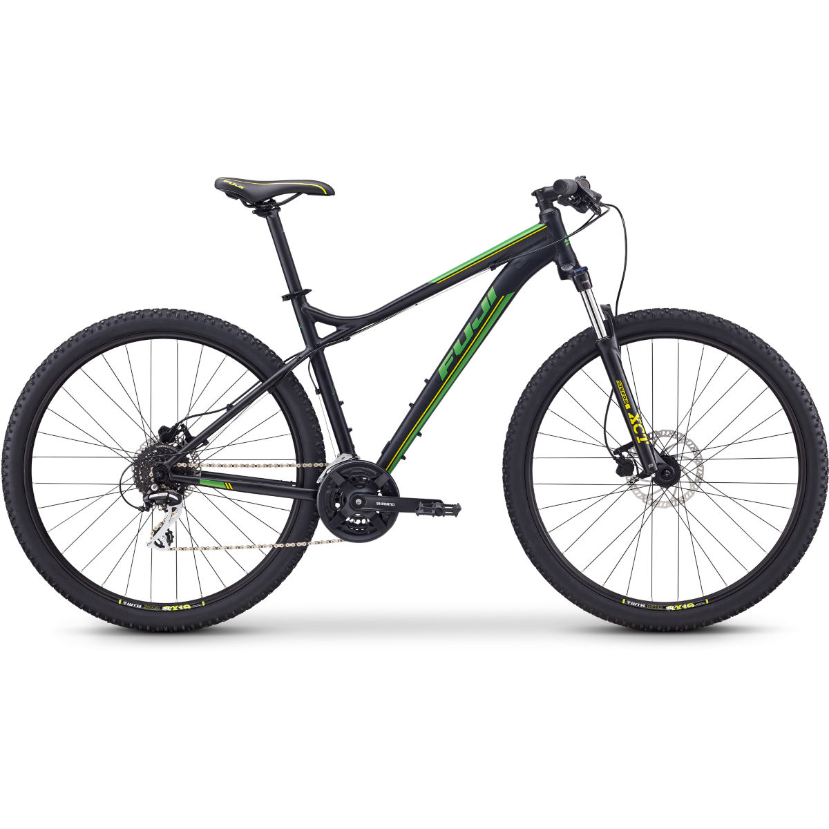 Fuji Nevada 29 1.7 Hardtail Bike (2020) – 23″ Satin Black