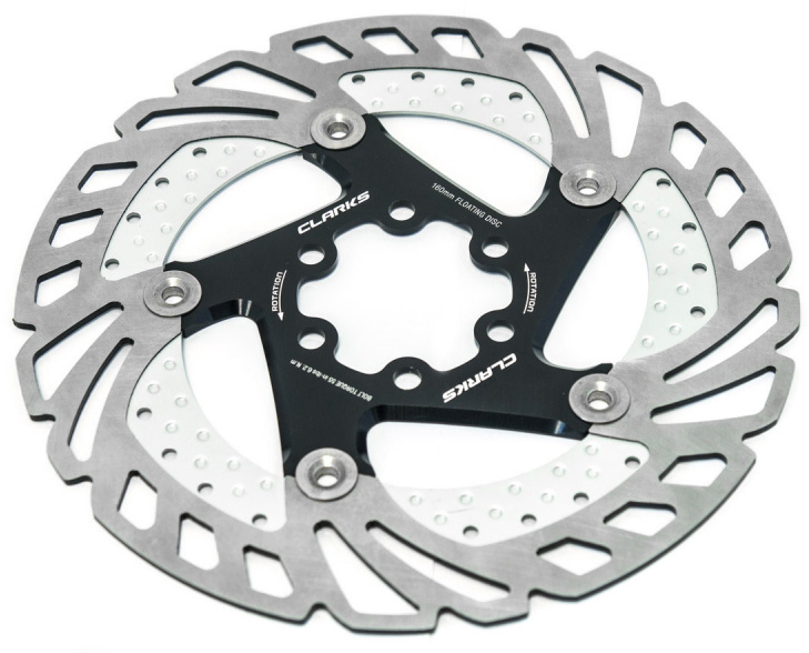Clarks CFR-11FA Finned Floating Rotor | Brake pads