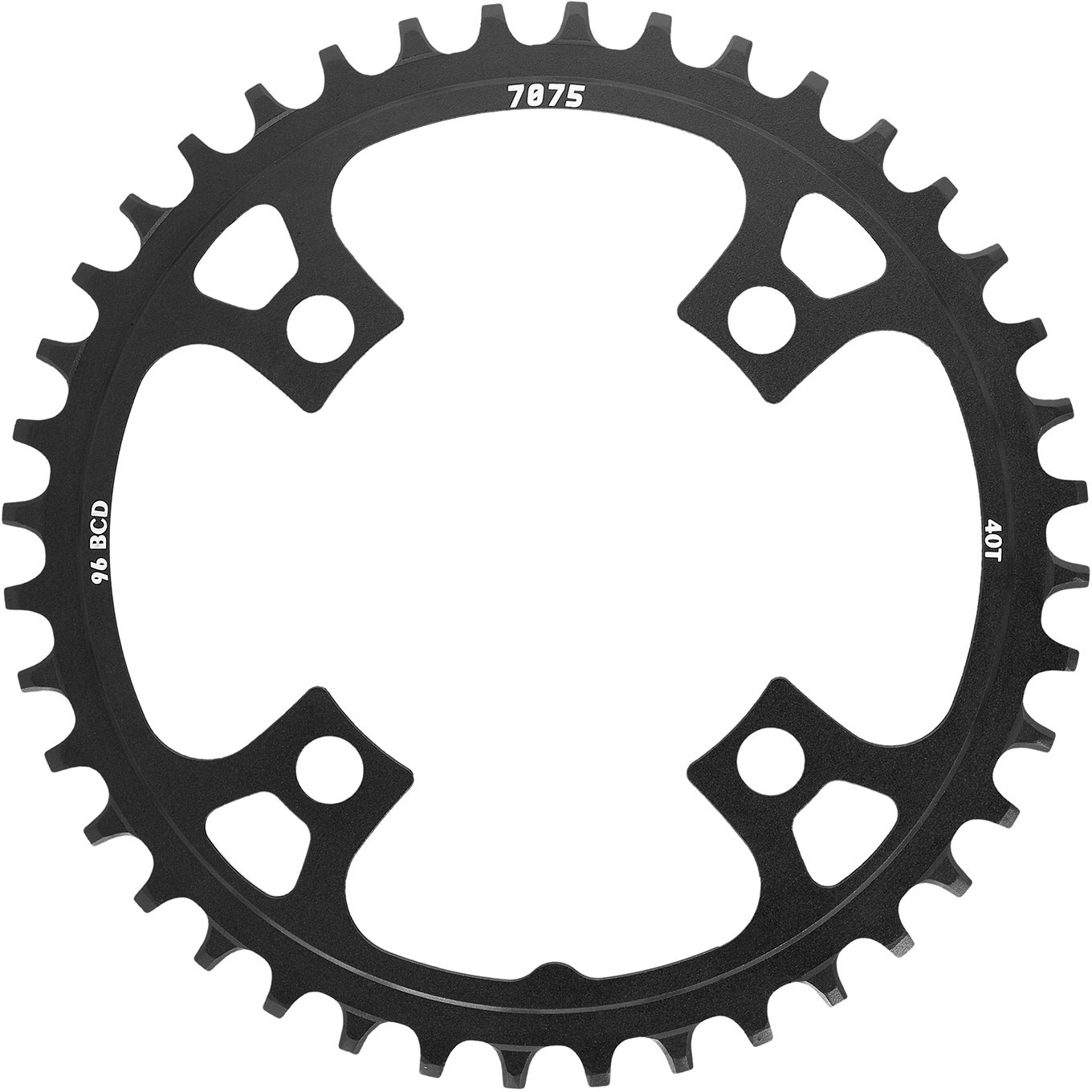 SunRace MX00 Alloy Chainrings Black | chainrings_component
