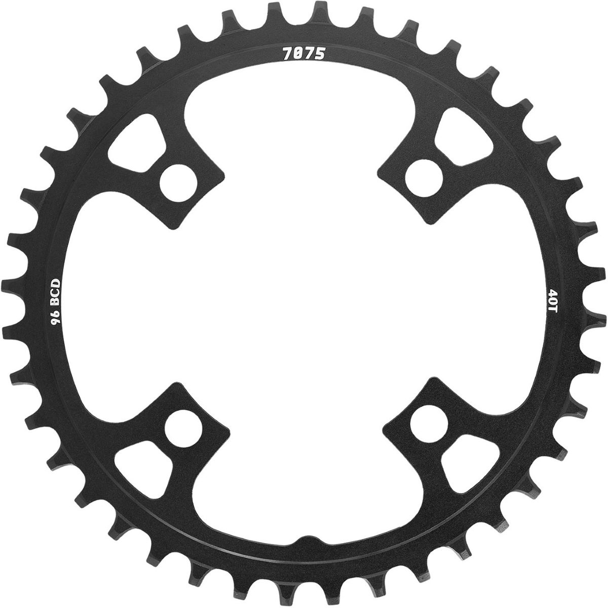 SunRace SunRace MX00 Alloy Chainrings Black   Chain Rings