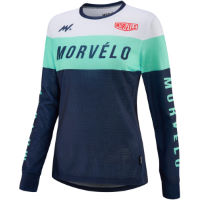 Morvelo Womens Slide Long Sleeve MTB Jersey