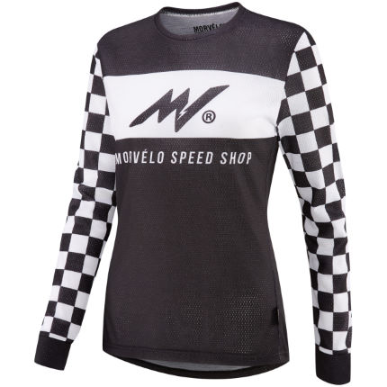 Morvelo Women's Speed Shop Long Sleeve MTB Jersey
