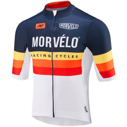 Morvelo NTH Series Daytona Bib Shorts Navy/Multi M