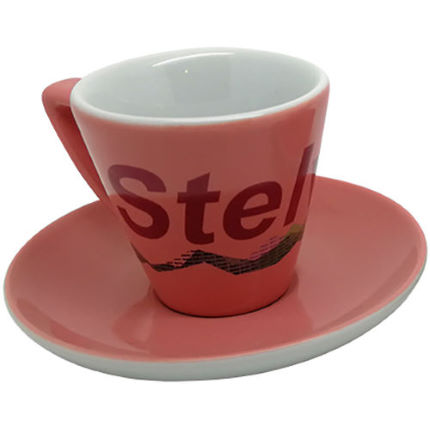 Cycling Souvenirs Stelvio Espresso Cup and Saucer