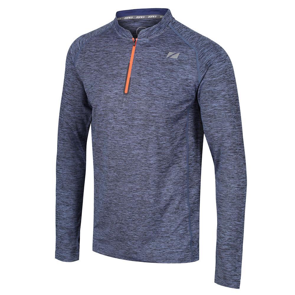 Zone3 Zip Soft-Touch Technical Long Sleeve Top | Jerseys