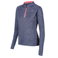 Zone3 Womens Zip Soft-Touch Technical Long Sleeve Top