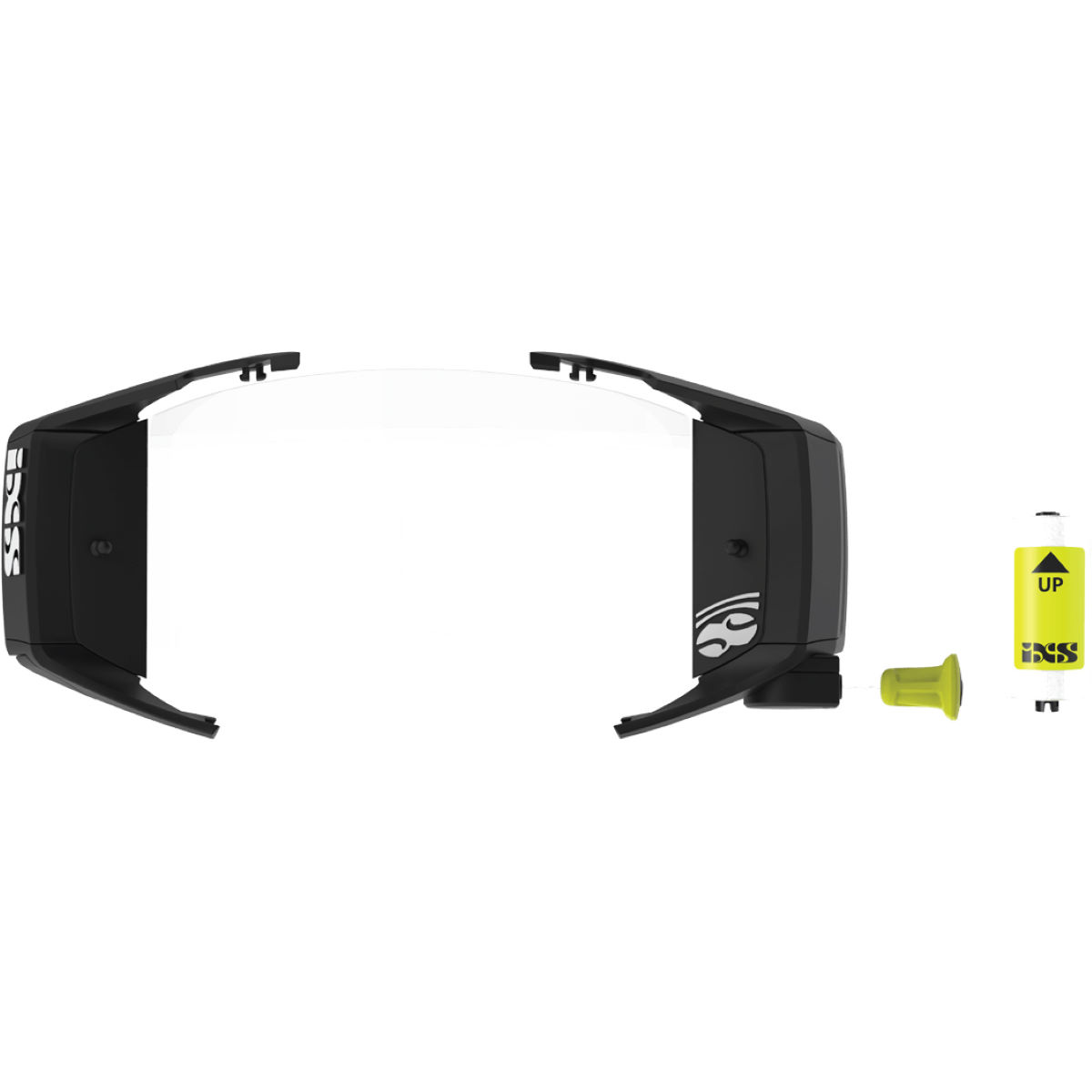 Ixs Trigger Roll-off Kit - One Size Transparent  Cycling Goggles