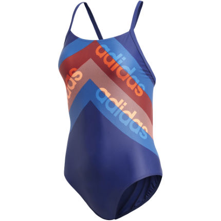 adidas Women's Athly Light Graphic Swimsuit