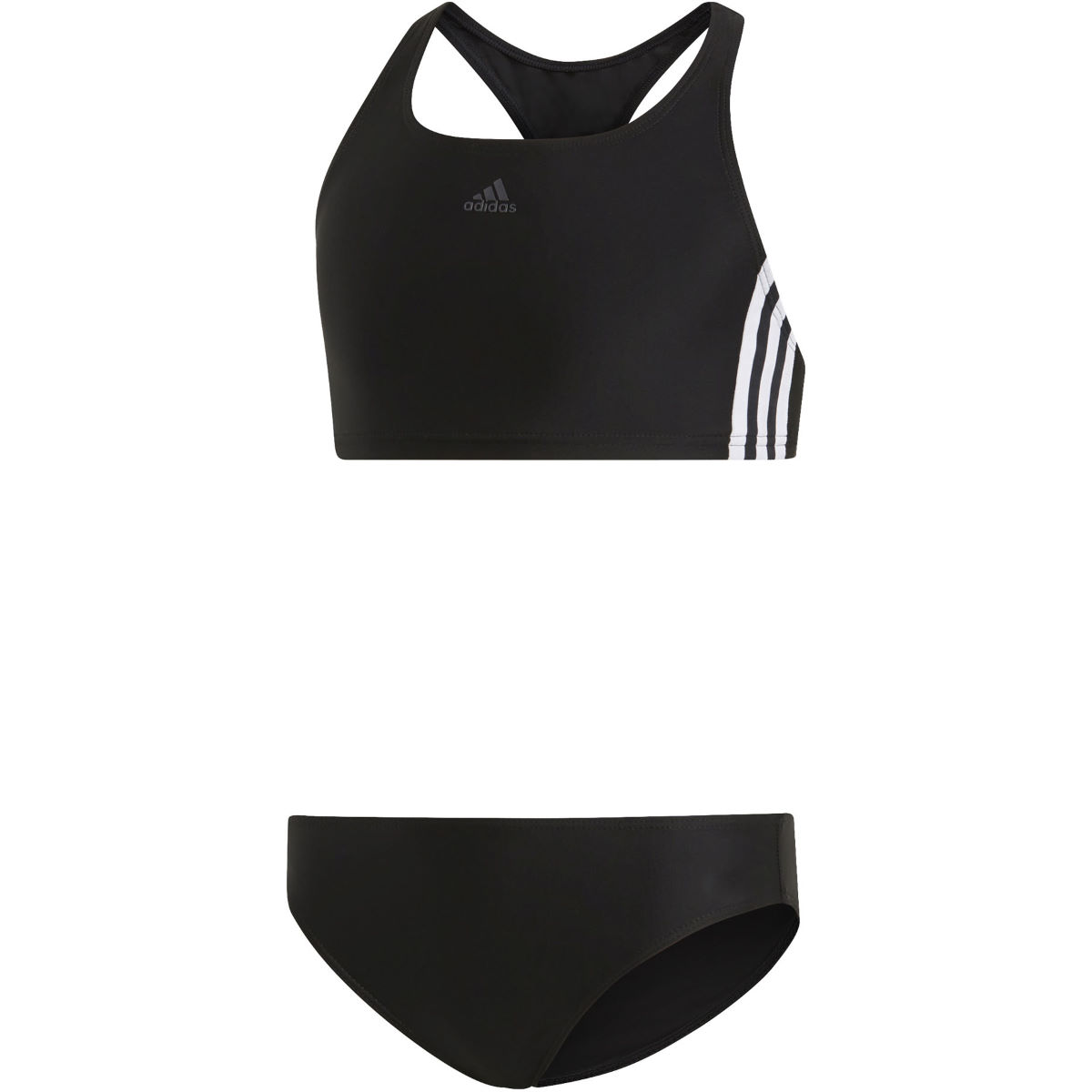 Image of adidas Fitness 3 Stripes Bikini Girls Two Piece Swimsuits