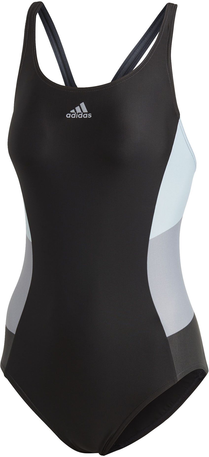 adidas Womens Athly X Colorblock Swimsuit | swim_clothes