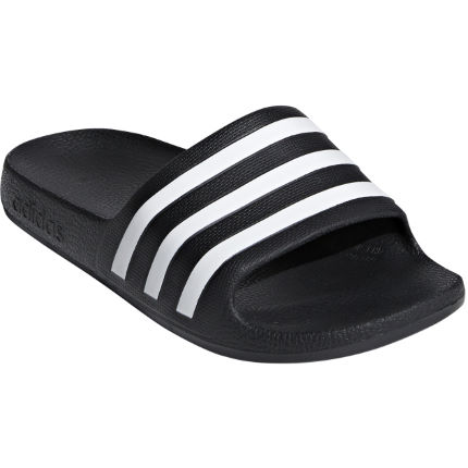 323617371a46 View in 360° 360° Play video. 1.  . 18. Core Black Ftwr Whit  Kids Adilette  Aqua Slides ...