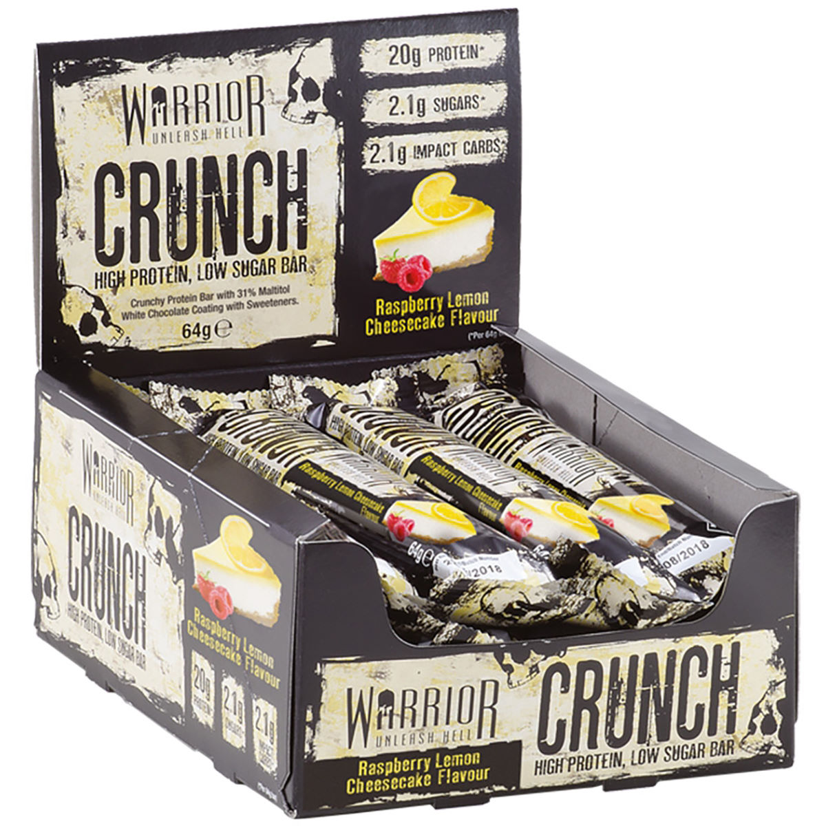 Warrior Warrior Crunch Protein Bars (12 x 64g)   Bars