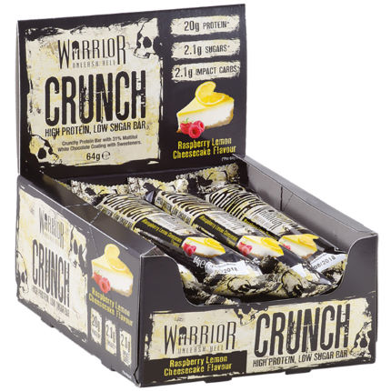 Warrior Crunch Protein Bars (12 x 64g)