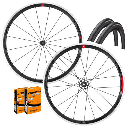 Fulcrum Racing 4 C17 Wheels GP4000s II Bundle