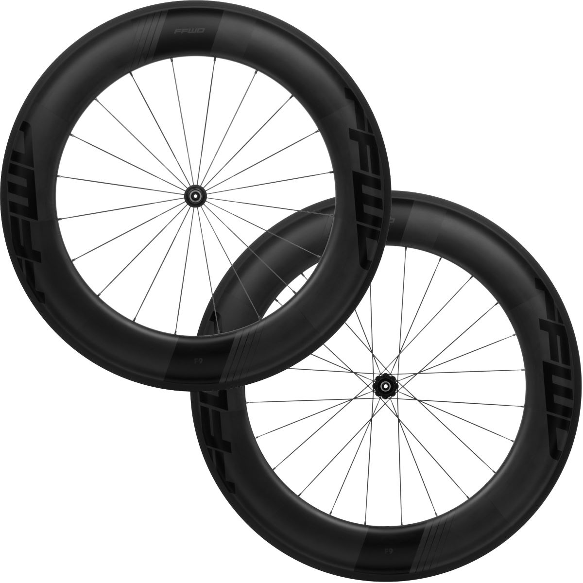 Image of Paire de roues Fast Forward F9R FCC DT240 SP (carbone) - Shimano