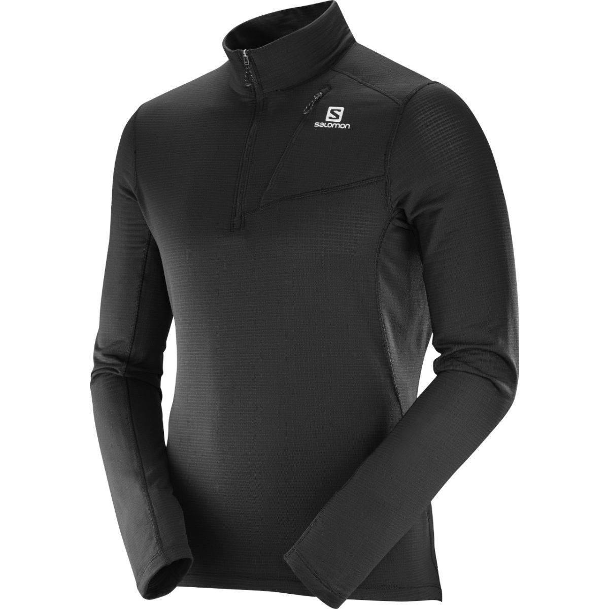 Salomon Grid HZ Mid   Long Sleeve Running Tops