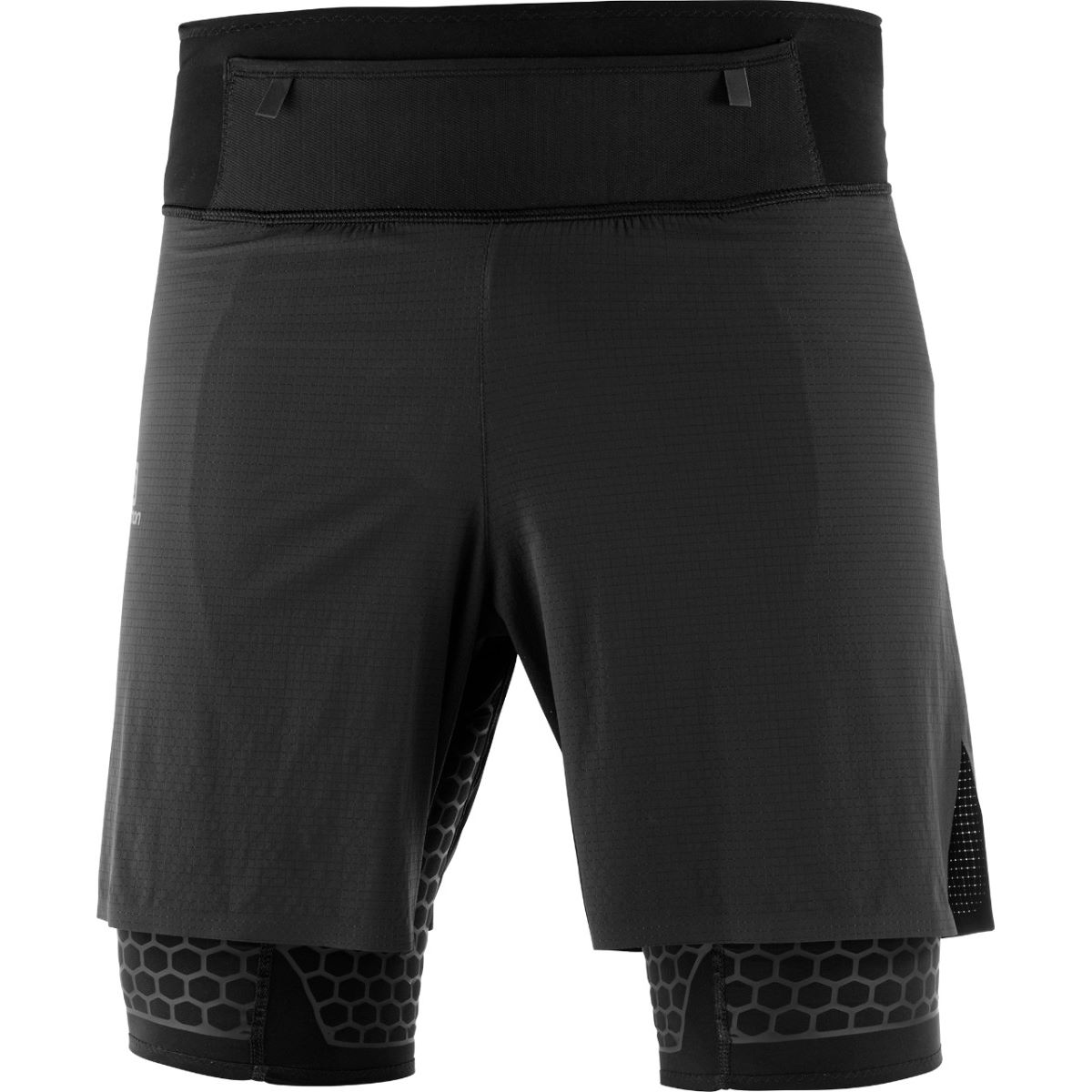 Salomon EXO Twinskin Short (Black)   Shorts