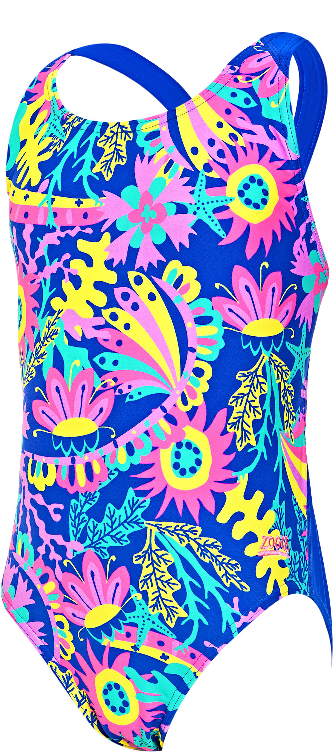 Zoggs Girls Ocean Play Flyback Swimsuit | swim_clothes