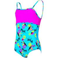 Zoggs Girls Petit Safari Classic Back Swimsuit