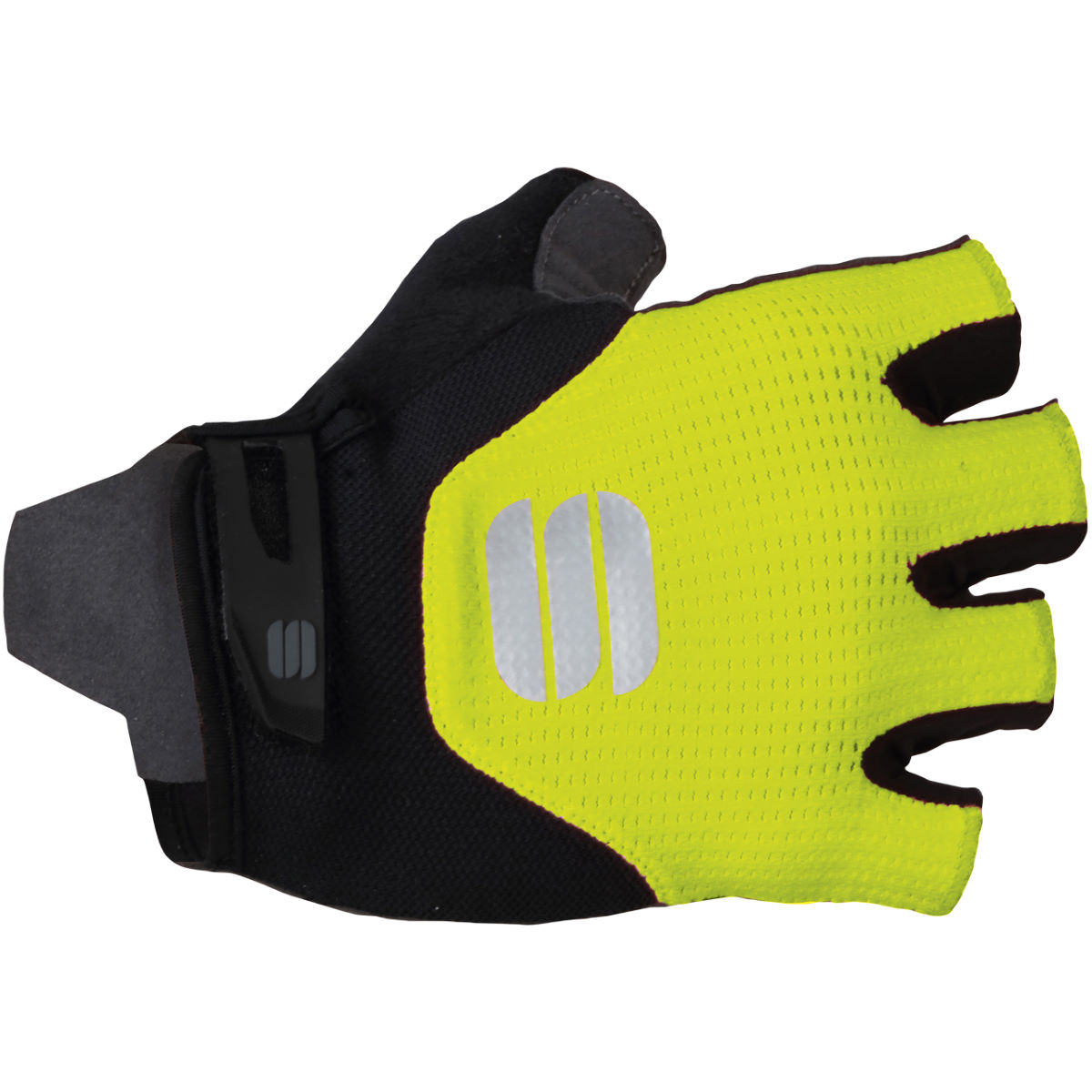 Sportful Neo Cycling Gloves - L Black/yellow  Gloves