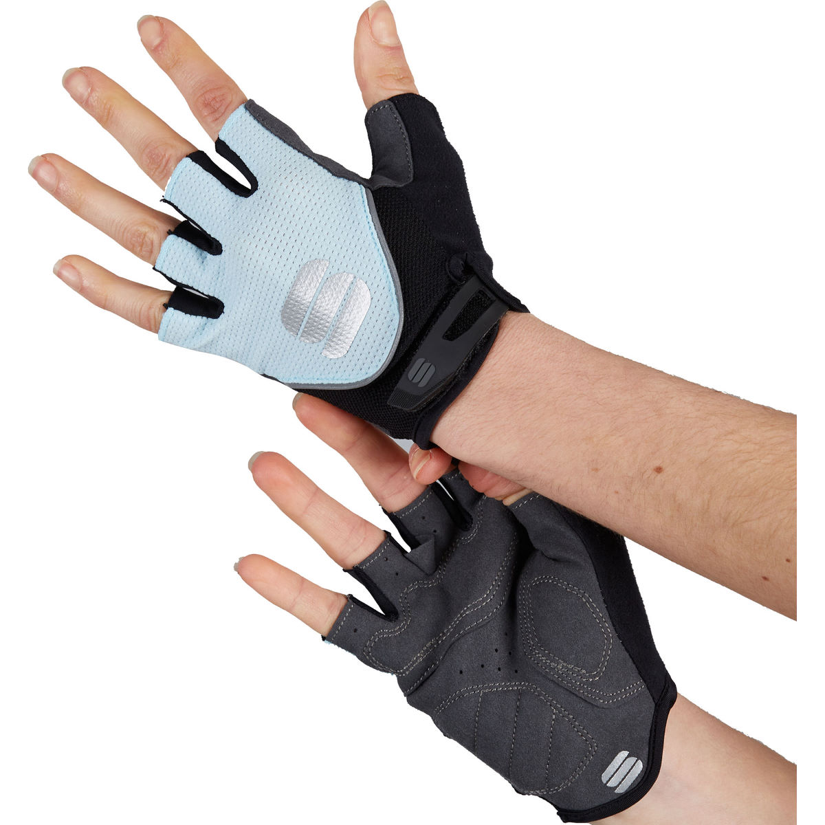 Sportful Womens Neo Cycling Gloves - L Blue Sky  Gloves