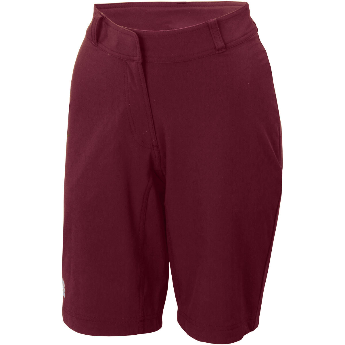 Sportful Womens Giara Over Shorts - M Red Wine  Baggy Shorts