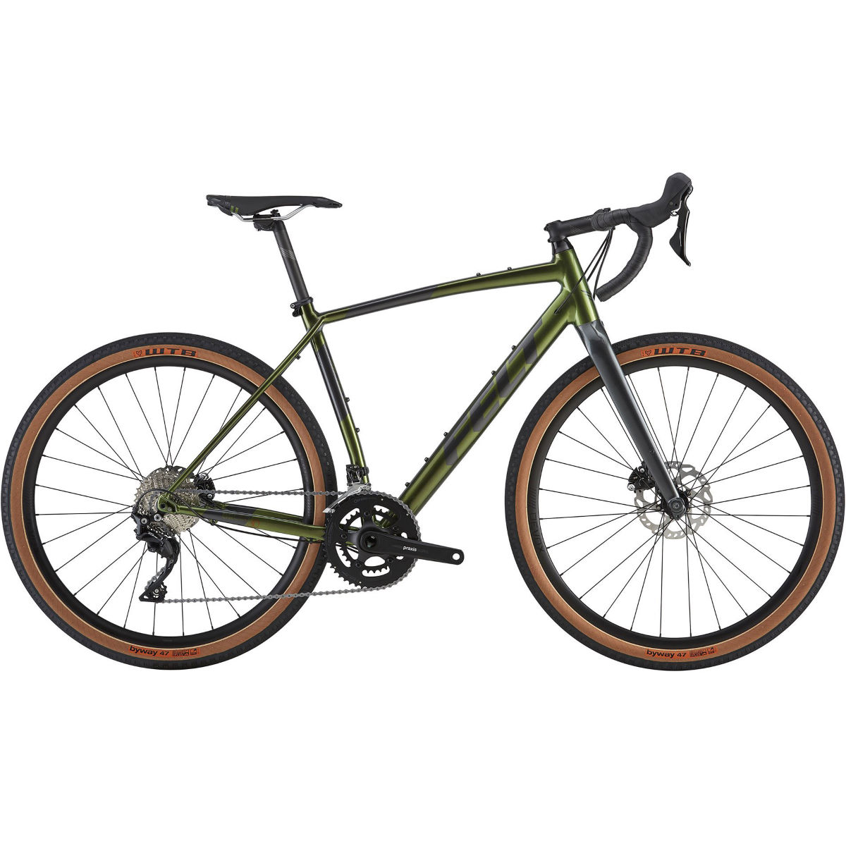 Image of Vélo de route Felt Breed 30 (aventure, 2019) - 58cm Green Metallic
