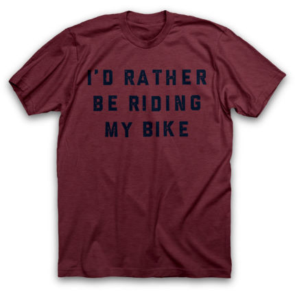 Twin Six Rather Be Riding T-Shirt