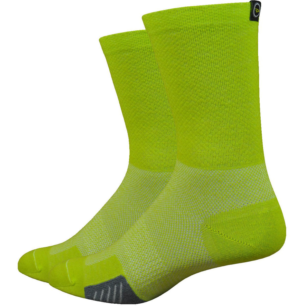 DeFeet DeFeet Cyclismo Wool Comp Limelight Socks   Socks